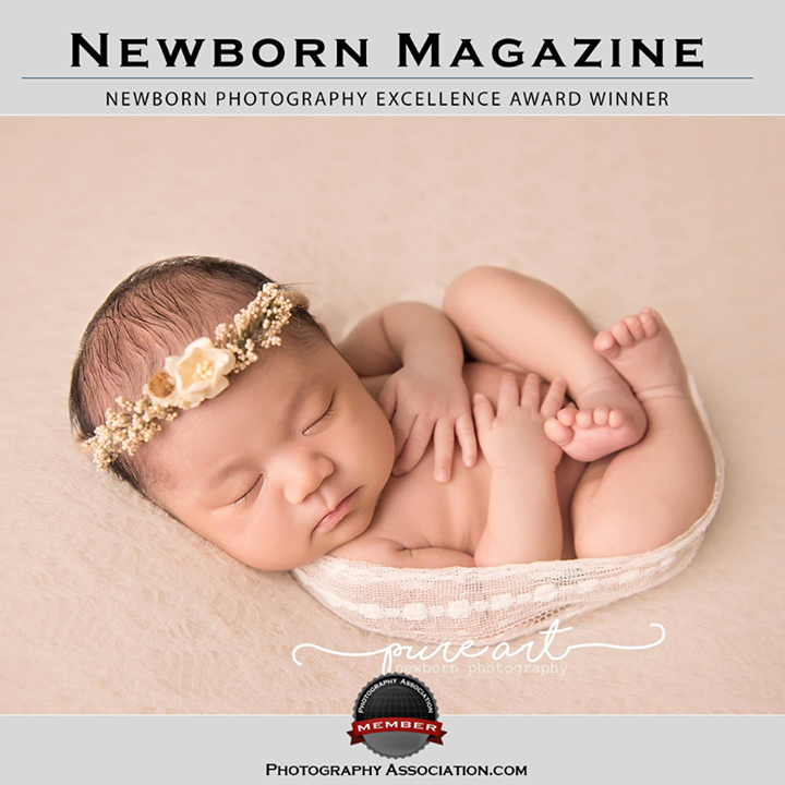 Pure art newborn photography